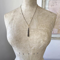 Multi Chain Tassel Necklace Necklace Robindira Unsworth