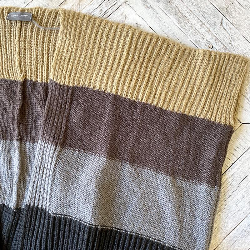 Wooden Ships Stripped Sweater