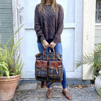 Campomaggi Adriano Plaid Backpack