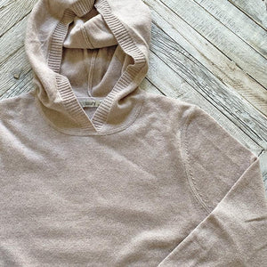 Subtle Luxury Cashmere Pocket Hoodie