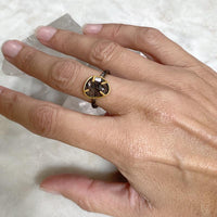 NEW #26 Petite Black Rutilated Quartz Ring Ring Robindira Unsworth