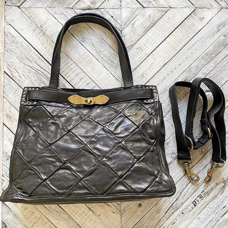 Campomaggi Diana Patchwork Shopping Bag