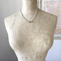 Delicate Grey Moonstone Triangle Necklace Necklace Robindira Unsworth