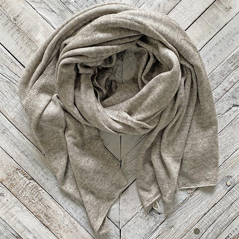 The Cozy Cashmere Knit Scarf
