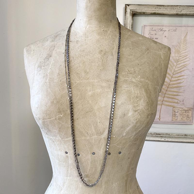 Shimmering Multi Chain Necklace Necklace Robindira Unsworth