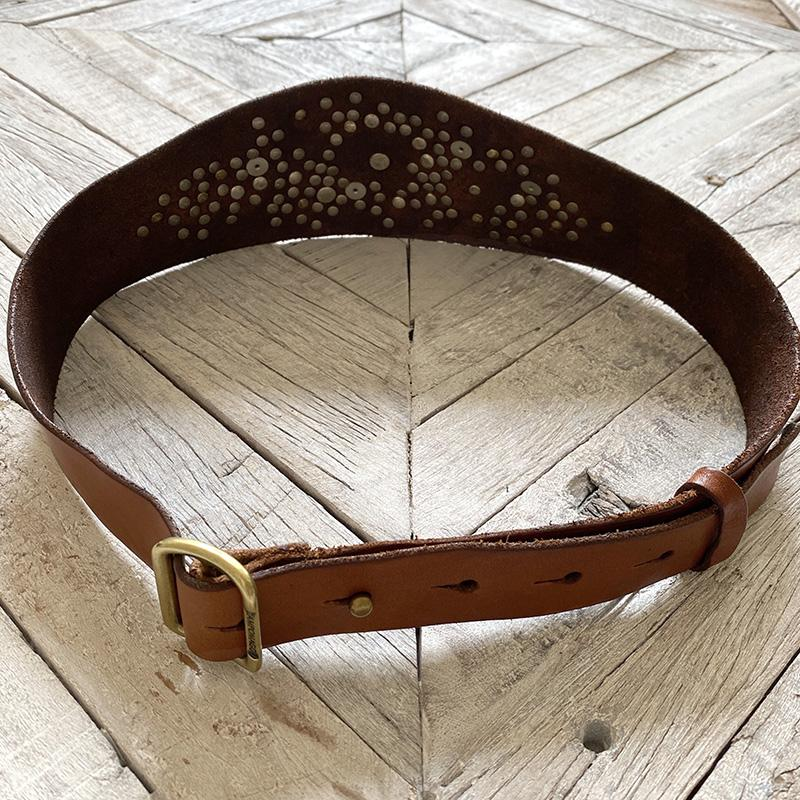 #NEW14 Campomaggi High-Waist Studded Belt BELT Campomaggi