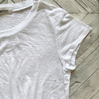 Classic White Tee Clothing LA MADE