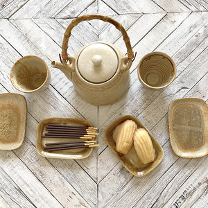 Earthen Collection Rectangular Plate Home Accessory Creative Co-op