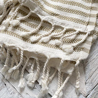 Striped Turkish Towel Home Accessory Together Textiles