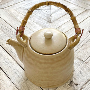 Earthen Collection Stoneware Teapot