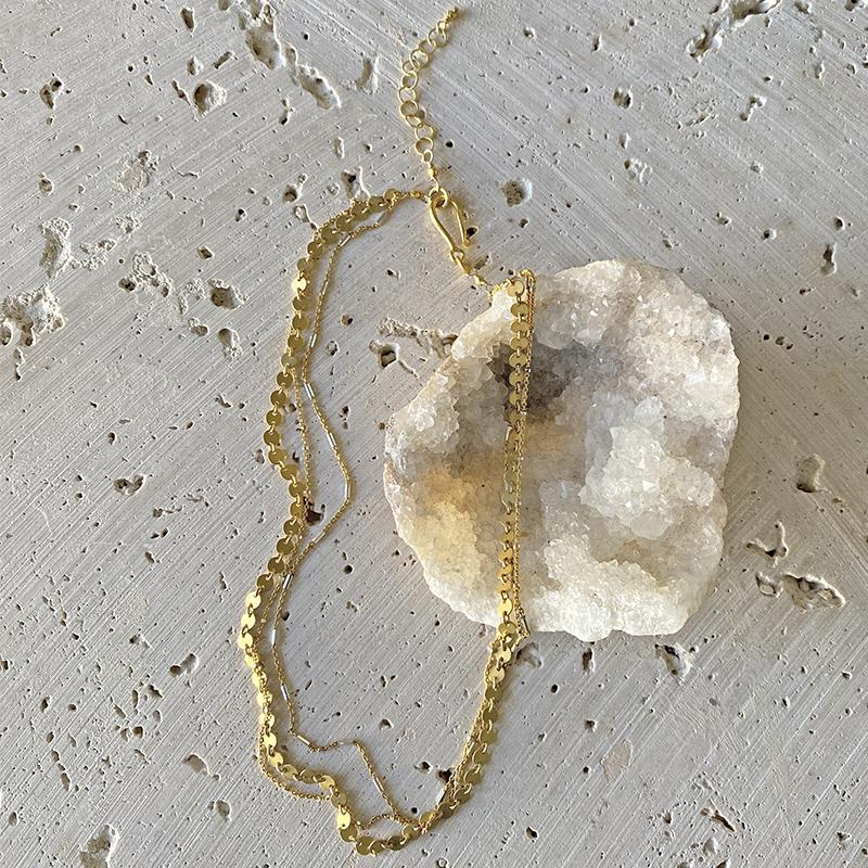 Golden Gypsy Chain Necklace