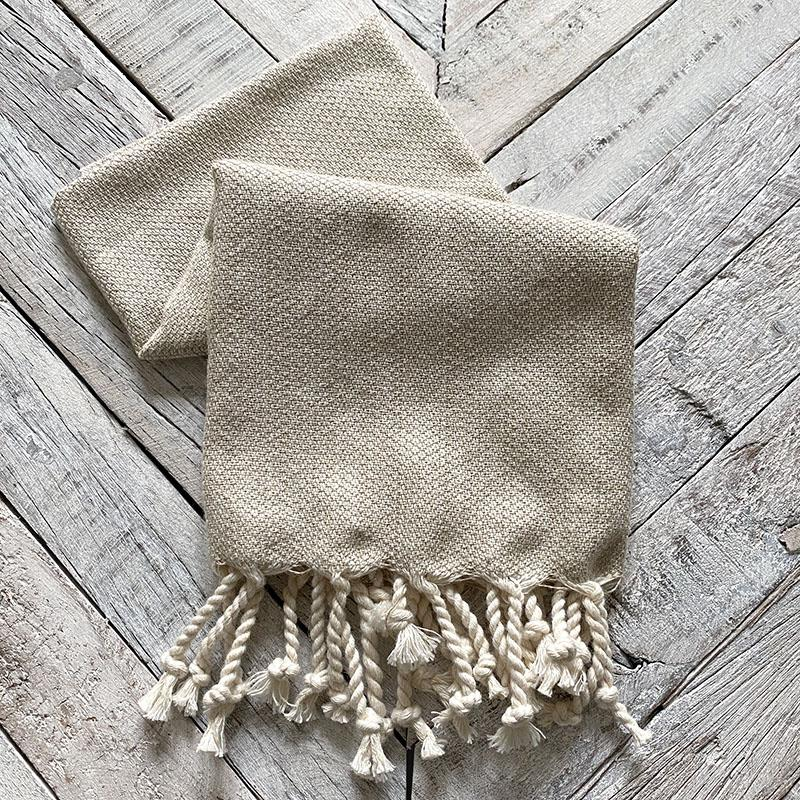 Taupe Turkish Towel Home Accessory Together Textiles