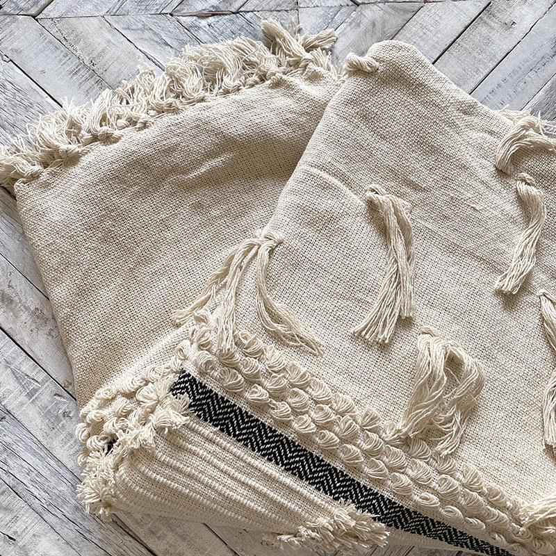 Bohemian Tassel Throw