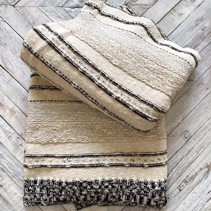 Cozy Sweater Blanket Pillow Indaba