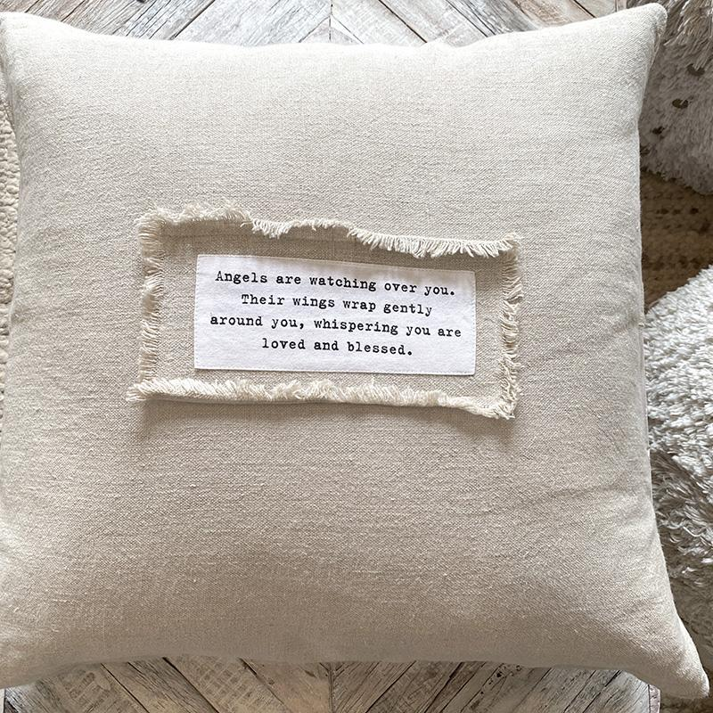 Sugarboo Quote Linen Pillow