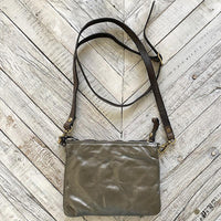 Campomaggi Metallic Crossbody Bag