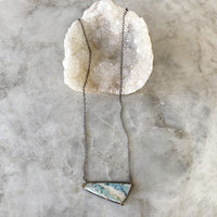 Opalized Wood And Diamond Necklace Necklace Robindira Unsworth