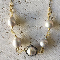 Pearl Collar Necklace Necklace Robindira Unsworth