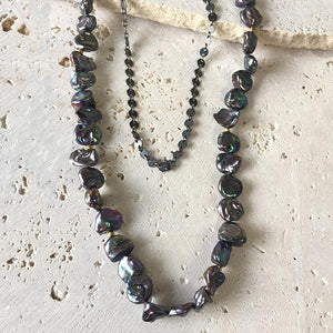 Pearl Layering Necklace Necklace Robindira Unsworth