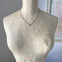 Petite Diamond Slice Collar Necklace Necklace Robindira Unsworth