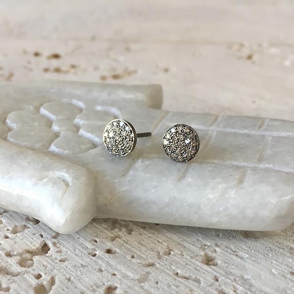 Round Diamond Stud Earrings Robindira Unsworth