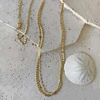 Shimmering Gold Chain Necklace Necklace Robindira Unsworth