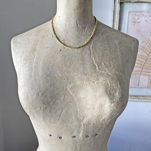 Shimmering Gold Collar Necklace Necklace Robindira Unsworth