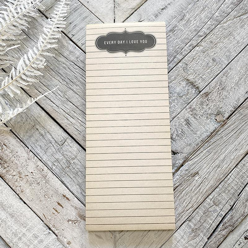 Sugarboo Every Day Skinny Notepad Notebook Sugarboo & Co.