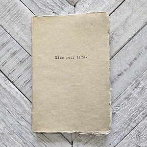 Sugarboo Kiss Your Life Journal Notebook Sugarboo & Co.