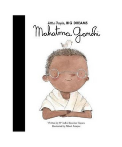 Little People Big Dreams Book - Gandhi