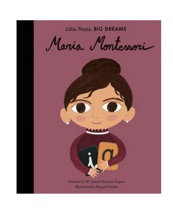 Little People Big Dreams Book - Maria Montessori