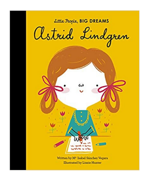 Little People Big Dreams Book - Astrid Lindgren