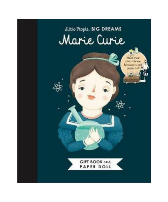 Little People Big Dreams Book - Marie Curie