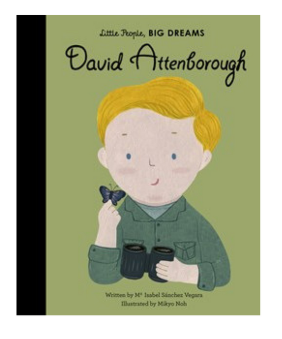 Little People Big Dreams Book - David Attenborough