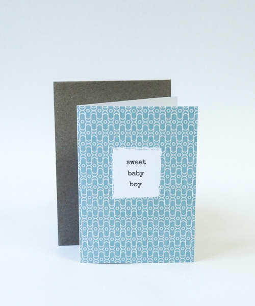Baby Gift Card - Sweet Baby Boy