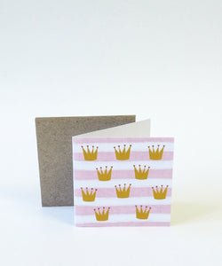 Princess Crown Small Card