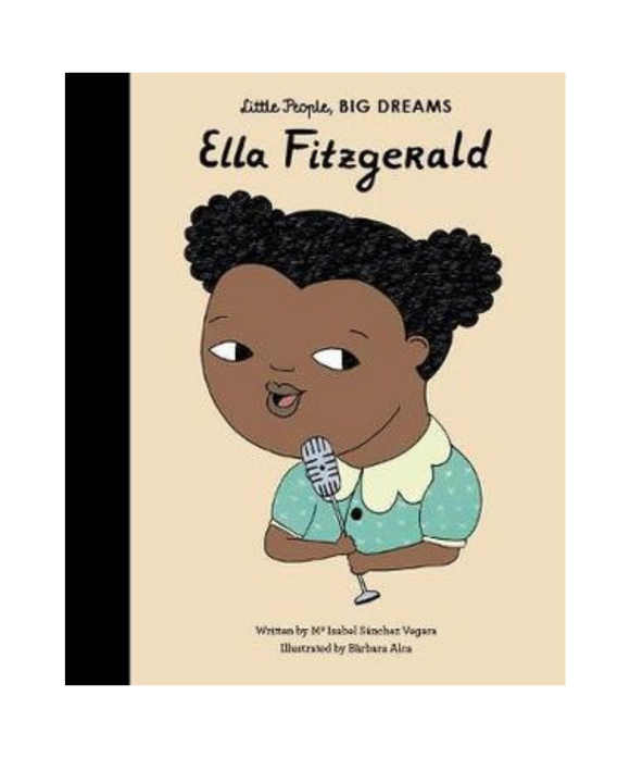 Little People Big Dreams Book - Ella Fitzgerald