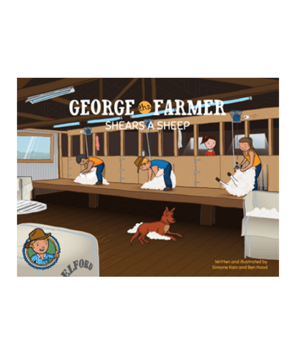 George The Farmer Shears A Sheep Book