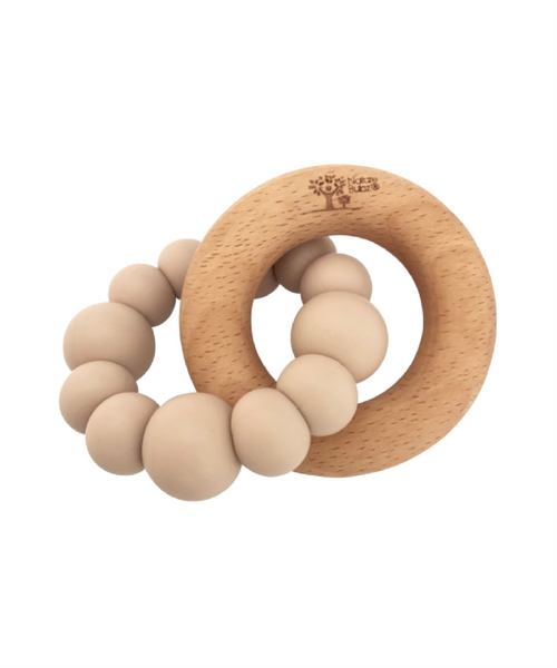 Nature Bubz Natural Teether Blok Oatmeal