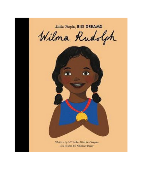 Little People Big Dreams Book - Wilma Rudolph
