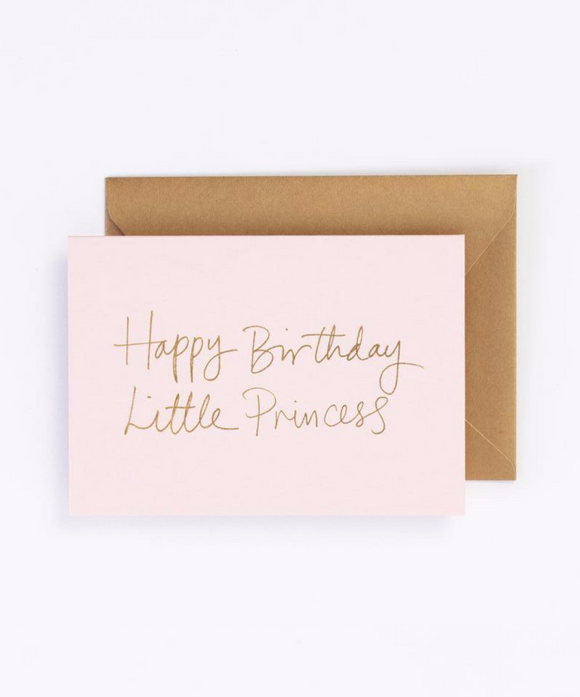 Happy Birthday Little Princess Gift Card