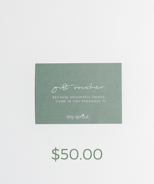 Tiny Sprout $50 Gift Voucher