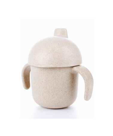 Oat Beige Wheat Straw Sippy Cup