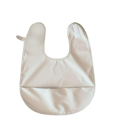 Snuggle Hunny Kids Waterproof Snuggle Bib Dove Grey