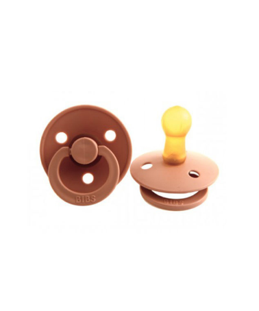 BIBS 2 Pack Soother Dummy Peach