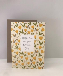 Baptism Wishes Card