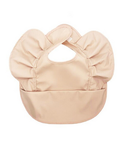 Snuggle Hunny Kids Waterproof Snuggle Bib Nude