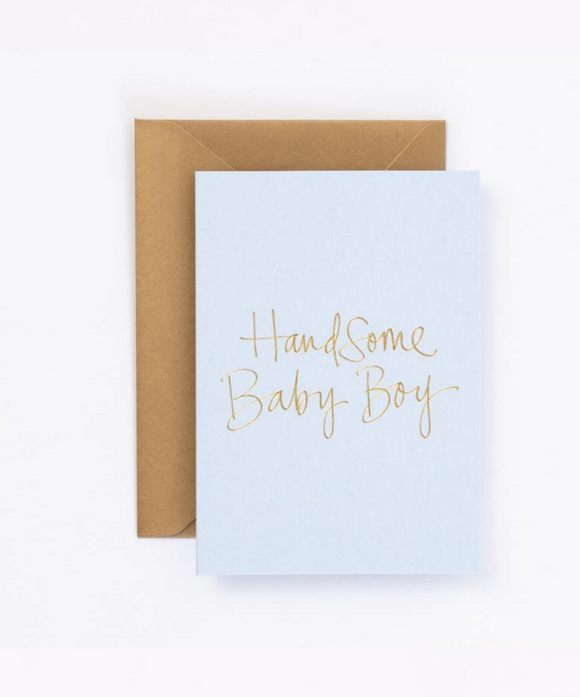 Baby Gift Card - Handsome Baby Boy
