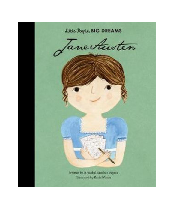 Little People Big Dreams Book - Jane Austen