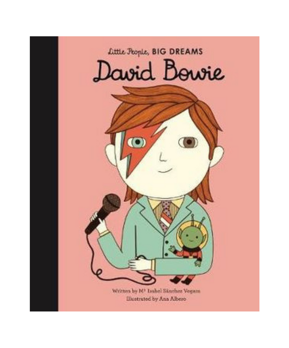 Little People Big Dreams Book - David Bowie